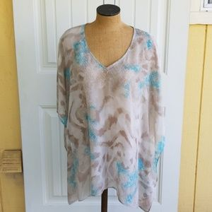 Chico's L/XL sheer cover